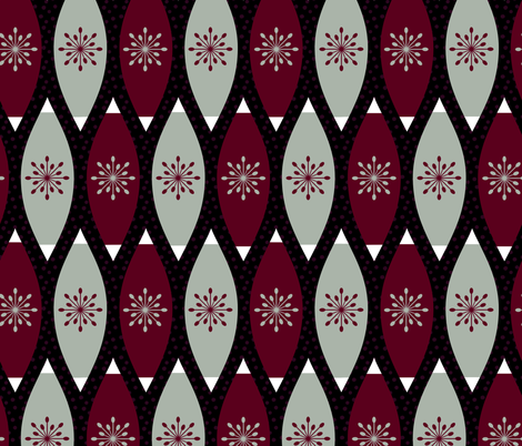 Elegant Christmas Ornaments fabric by thewellingtonboot on Spoonflower - custom fabric