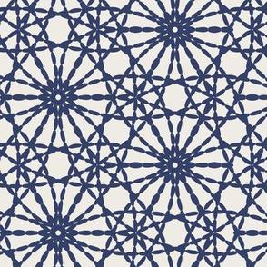 stitch floral-blue