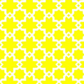Kasbah Sunny Lemon-White