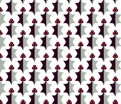 Upstanding For Holly fabric by seesawboomerang on Spoonflower - custom fabric