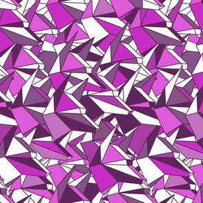 origami_dogs_black_white_magenta