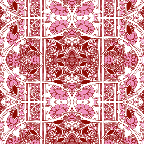 We Can Get Out the Good China fabric by edsel2084 on Spoonflower - custom fabric