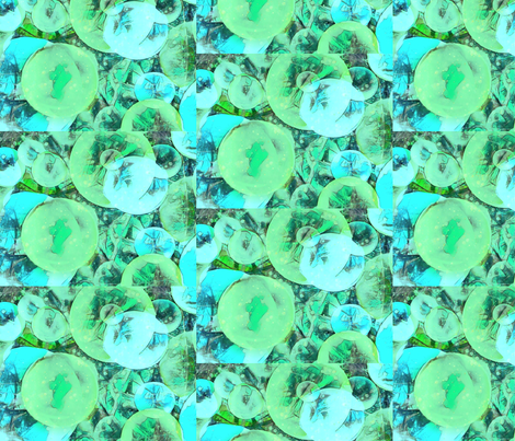 Bubbles! fabric by zmarksthespot on Spoonflower - custom fabric