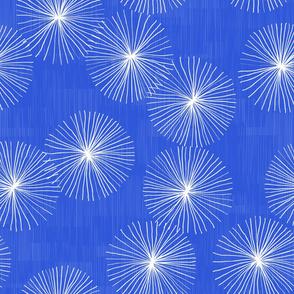 Dandelions M+M Cobalt by Friztin
