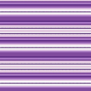 Peru Skinny Stripe Purple Tonal