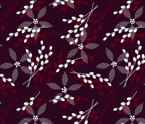 Solstice Gala fabric by lynnbishopdesign on Spoonflower - custom fabric