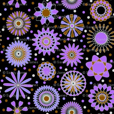 lavender discs 6x6