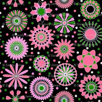 pink discs 8x8