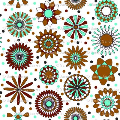 brown discs 6x6