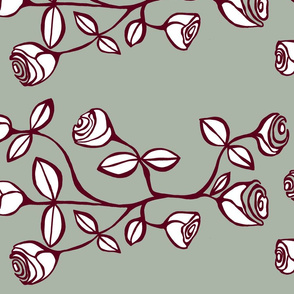 horizontal different roses