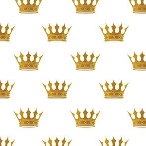 Wedding White Gold Crowns