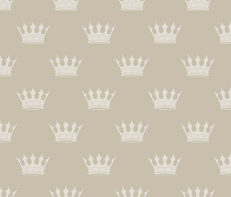 George Grey on Grey Crowns fabric by paper_and_frill on Spoonflower - custom fabric
