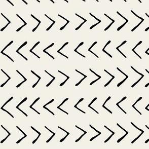 Arrows on Alabaster // Large