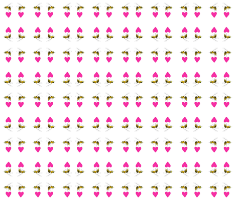 beelove-ed-ed fabric by pastella9 on Spoonflower - custom fabric