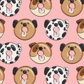 dog donuts - pink
