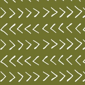Arrows on Crete Green // Large