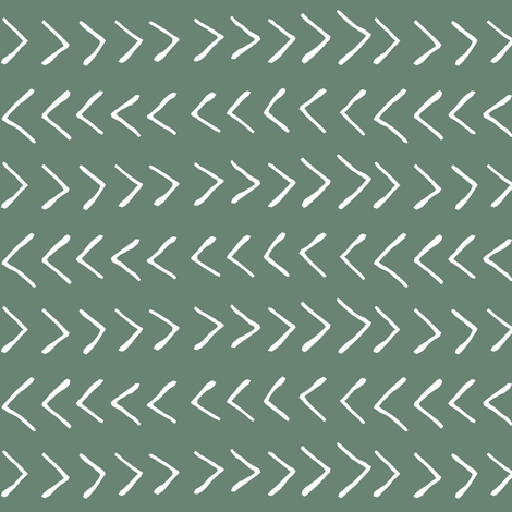 Arrows on Laurel Green // Small fabric by thinlinetextiles on Spoonflower - custom fabric