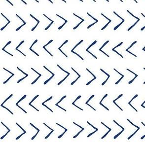 Blue Arrows // Large