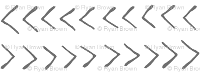 Grey Arrows // Large