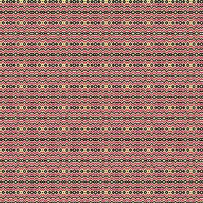 Kuangaza 6 Stripe in Pink Black & Yellow