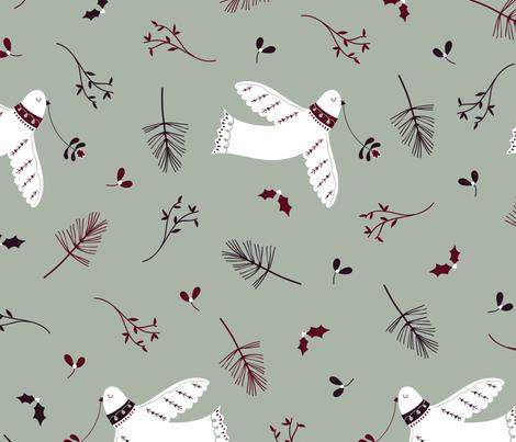Festive Flight fabric by amyjonesdesignco on Spoonflower - custom fabric