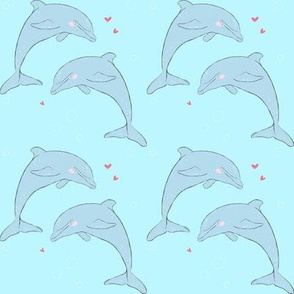 Dolphins in Love