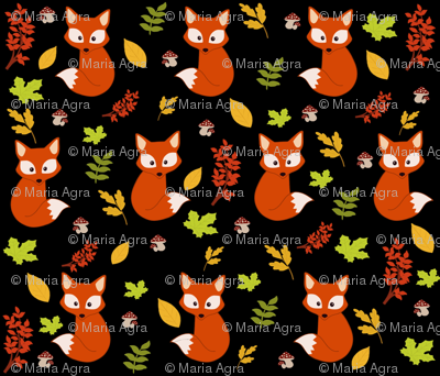 Small foxes.