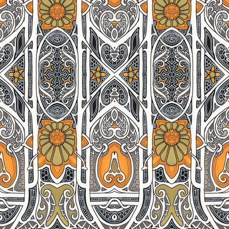 Autumn 1889 fabric by edsel2084 on Spoonflower - custom fabric
