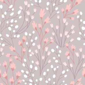 Silvie Floral in Rose