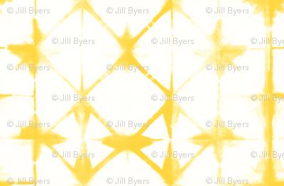 Shibori 13 - Yellow