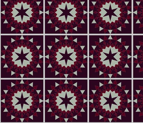 Elegant holiday fabric by megmaciejko on Spoonflower - custom fabric