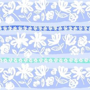 brush flower stripe-blue