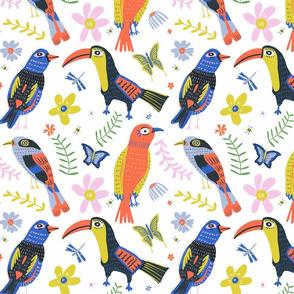 Bird conversations