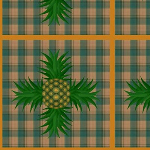 f-pineapple plaid
