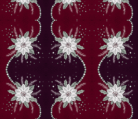 Chic holliday fabric by lucybaribeau on Spoonflower - custom fabric