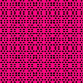 Kuangaza 3  In Pink &  Black