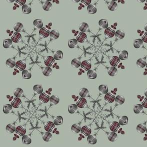 Ballball Snowflake