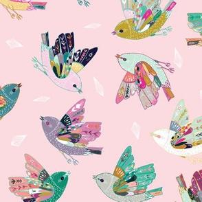Joy Birds (pink)