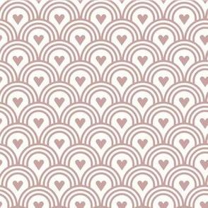 Hearts Smoked Pink