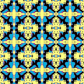 Kuangaza 2a In Blue Yellow & Black