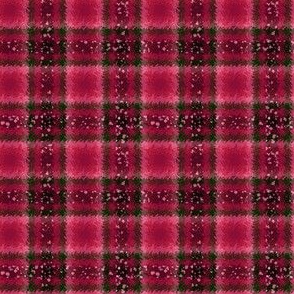 JP7 - Fizzy Jagged Plaid in Pine Green, Rose and Burgundy