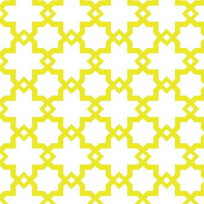 Kasbah White-Mustard