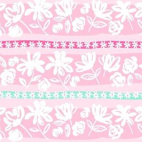 brush flower stripe-pink