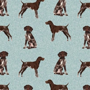 german shorthair pointer pet quilt  b coordinate