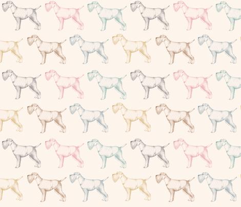 Schnauzers fabric by daniwilliams on Spoonflower - custom fabric