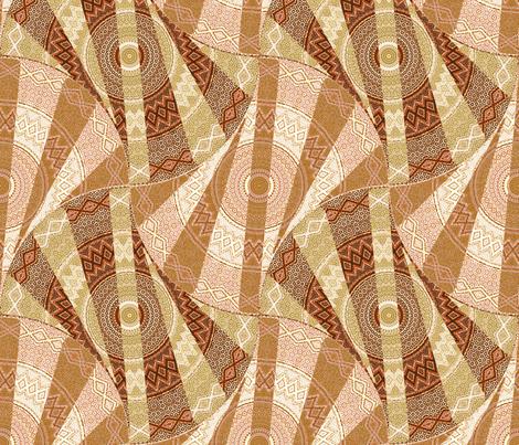 Medallion Twist - solarium fabric by ormolu on Spoonflower - custom fabric