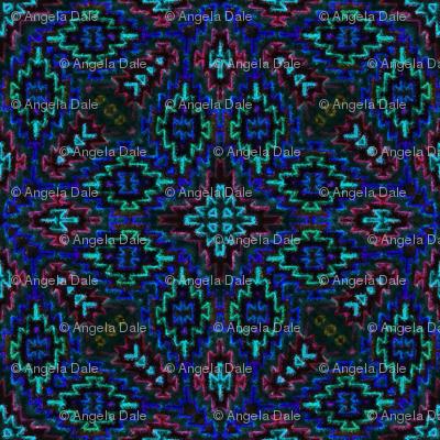 Mosaic Gem Blue