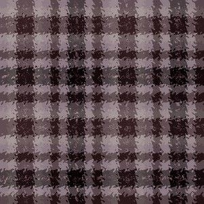 JP 5 - Lavender Chocolate Jagged Plaid