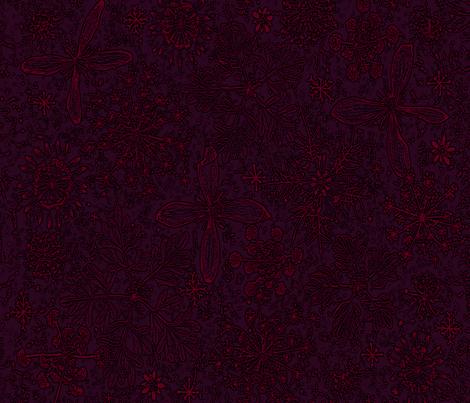 Winter Snowflake fabric by mypetalpress on Spoonflower - custom fabric