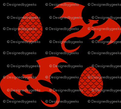 Got Dragons? Ember Colorway